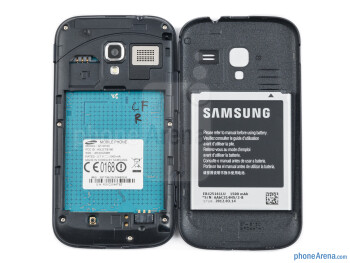 Battery compartment - Samsung Galaxy Ace 2 Preview