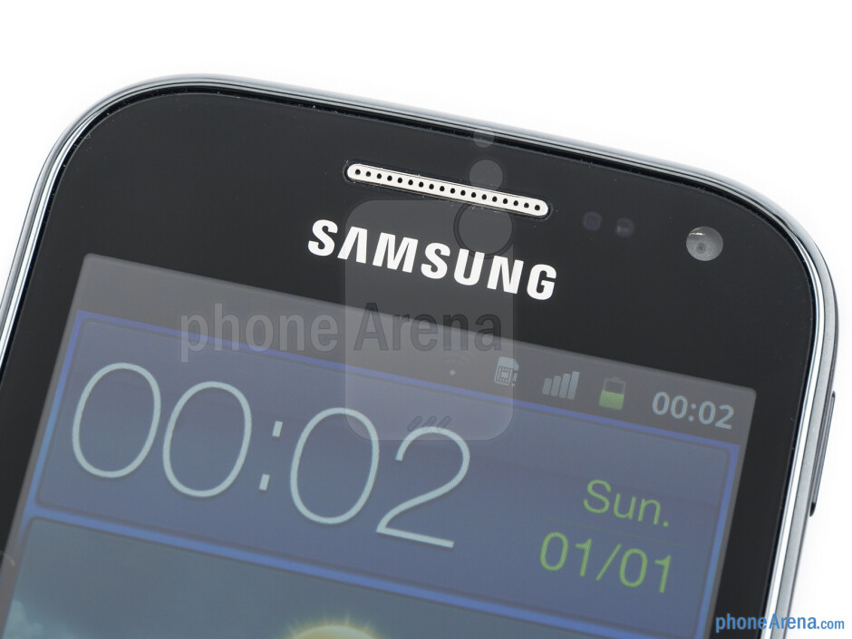 The Samsung Galaxy Ace 2 lies well in the hand - Samsung Galaxy Ace 2 Preview