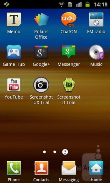 The Samsung Galaxy Ace 2 has TouchWiz 4.0 interface over Android Gingerbread - Samsung Galaxy Ace 2 Preview