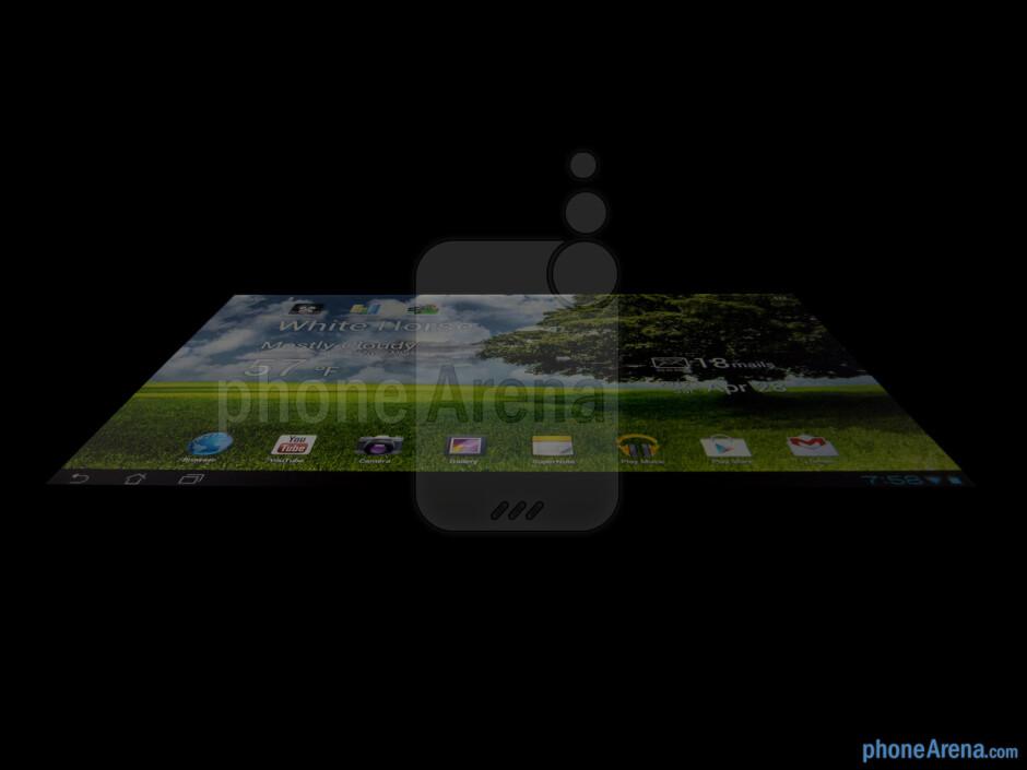 Viewing angles - Asus Transformer Pad 300 Review