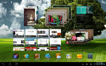 The Asus Transformer Pad 300 is running a stock Android 4.0.3 Ice Cream Sandwich experience out of the box - Asus Transformer Pad 300 Review