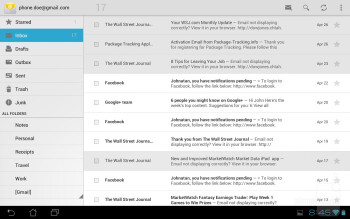 Email - Asus Transformer Pad 300 Review