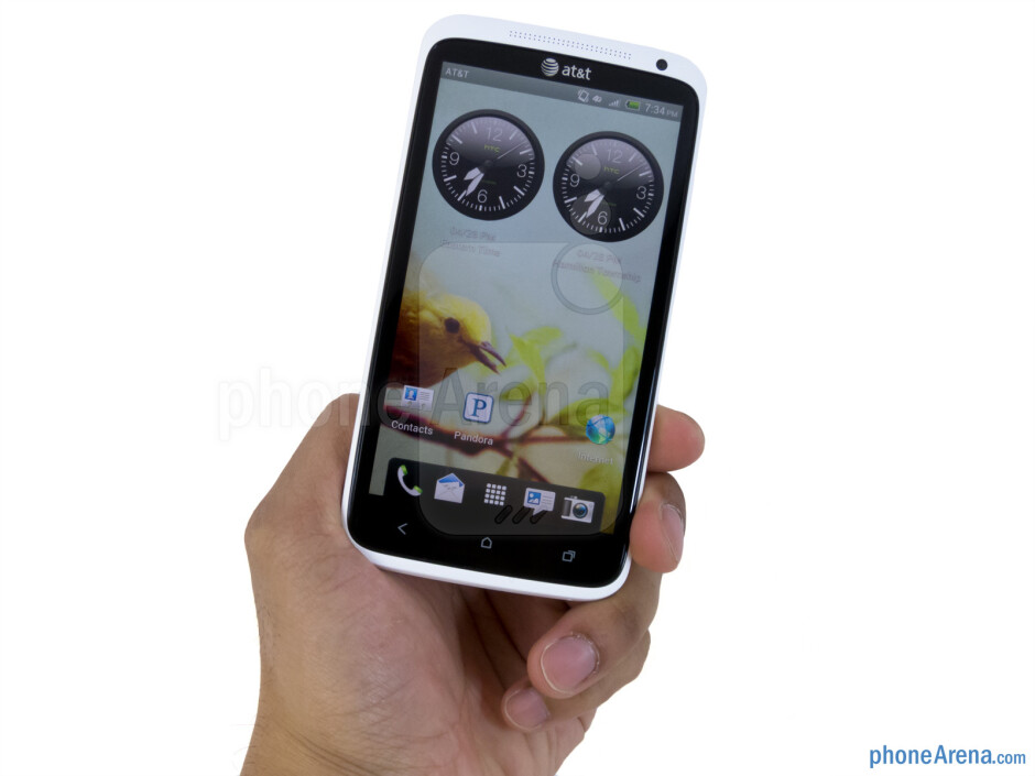 HTC One X  feels incredibly solid and fine to the touch. - HTC One X for AT&T Review