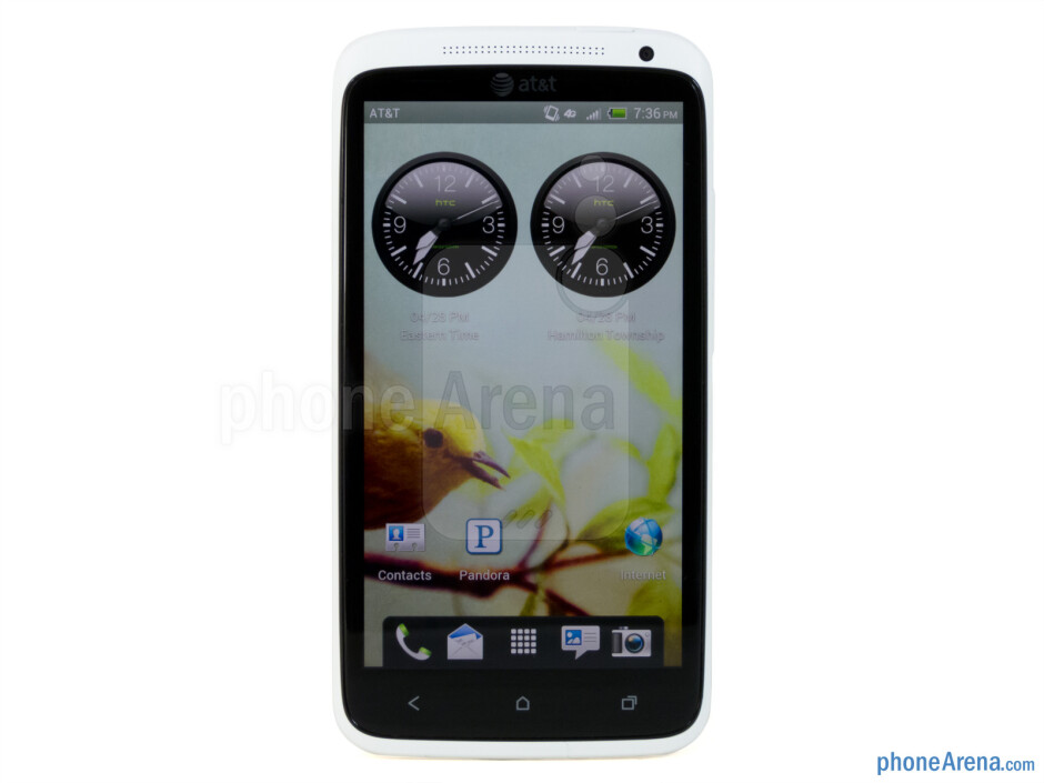 The gigantic 4.7'' display of the HTC One X is very good-looking. - HTC One X for AT&T Review