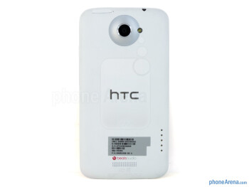 The back side - HTC One X for AT&T Review