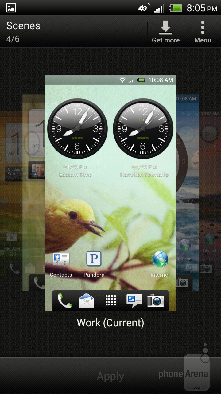 HTC One X runs Android 4.0.3 Ice Cream Sandwich. - HTC One X for AT&T Review