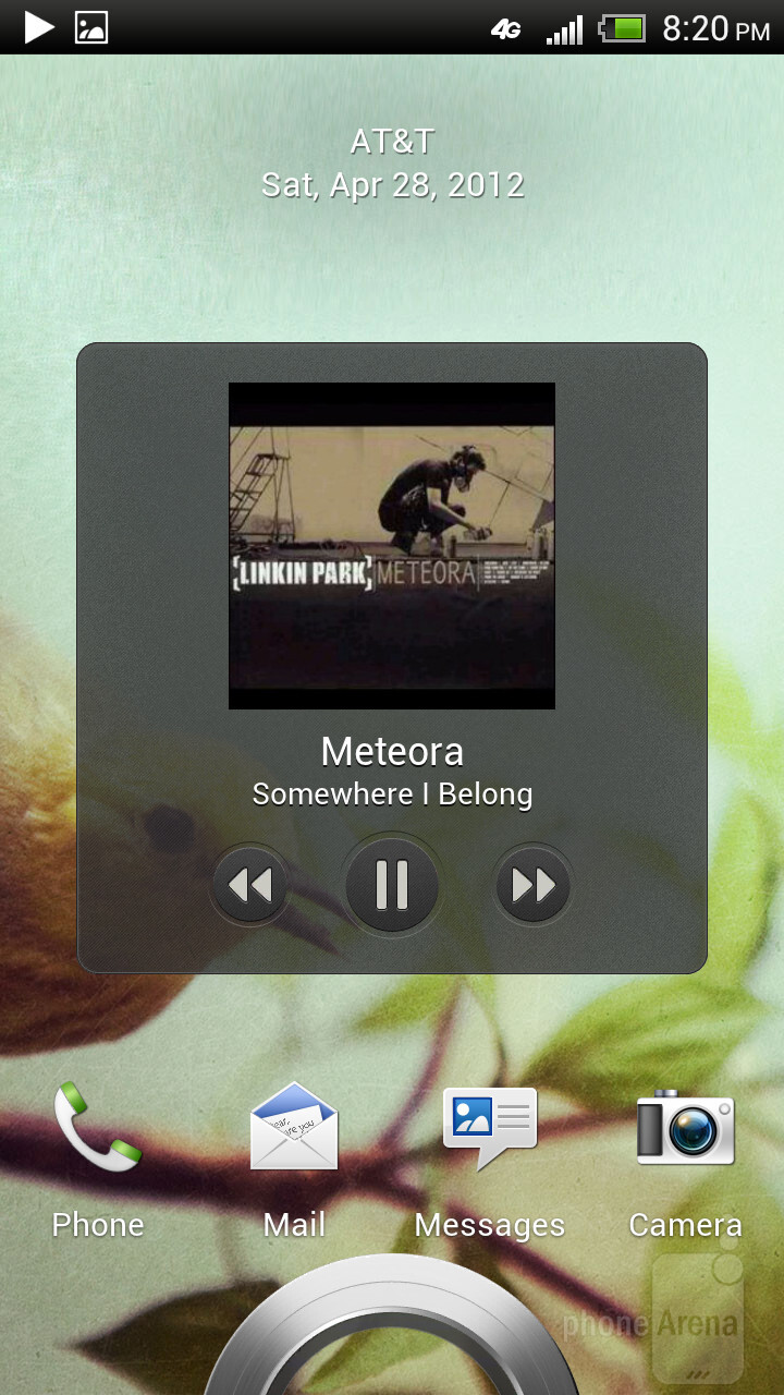 The stock music player itself is rather simplistic - HTC One X for AT&T Review