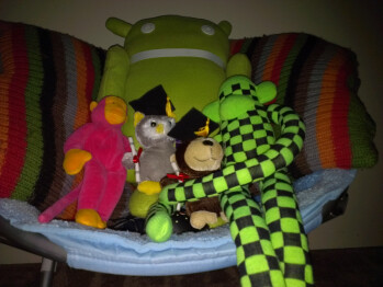 3ft - Darkness with flash - Indoor samples - HTC One X for AT&T Review