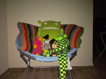 5ft - Darkness with flash - Indoor samples - HTC One X for AT&T Review
