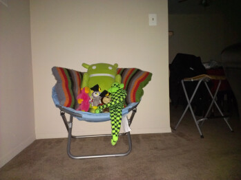 7ft - Darkness with flash - Indoor samples - HTC One X for AT&T Review