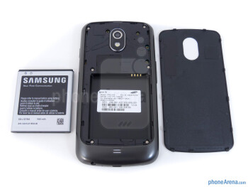 Battery compartment - Samsung Galaxy Nexus for Sprint Review