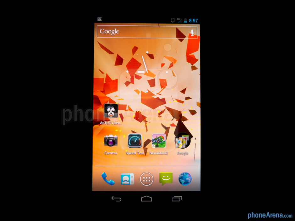 Viewing angles - Samsung Galaxy Nexus for Sprint Review