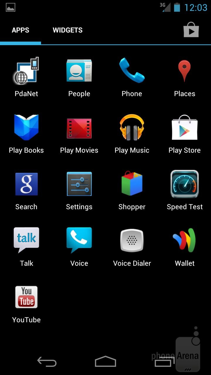 The Samsung Galaxy Nexus comes with Android 4.0.4 Ice Cream Sandwich right out of the box  - HTC EVO 4G LTE vs Samsung Galaxy Nexus