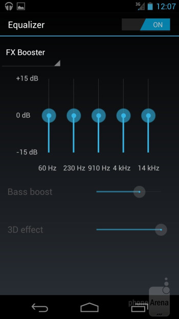 The Music app of the Samsung Galaxy Nexus - Samsung Galaxy Nexus for Sprint Review