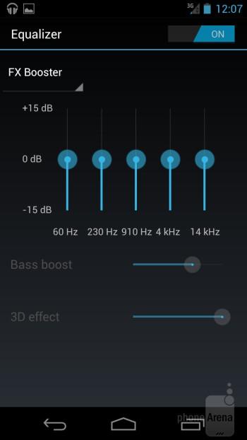 The Music app of the Samsung Galaxy Nexus - Samsung Galaxy Nexus for Sprint Review