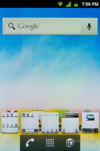 The LG Optimus Elite is running Android 2.3.7, with a few Sprint tweaks - LG Optimus Elite Review