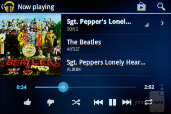 Video and audio players - LG Optimus Elite Review