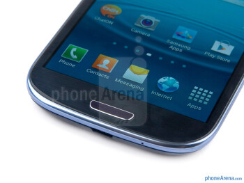 Android buttons - Samsung Galaxy S III Review