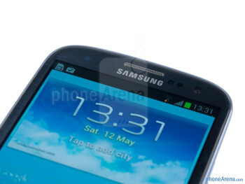 Front-facing camera - Samsung Galaxy S III Review