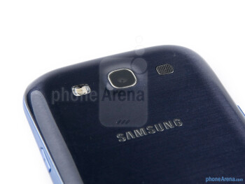 Rear camera - Samsung Galaxy S III Review