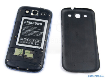 Battery compartment - Samsung Galaxy S III Review