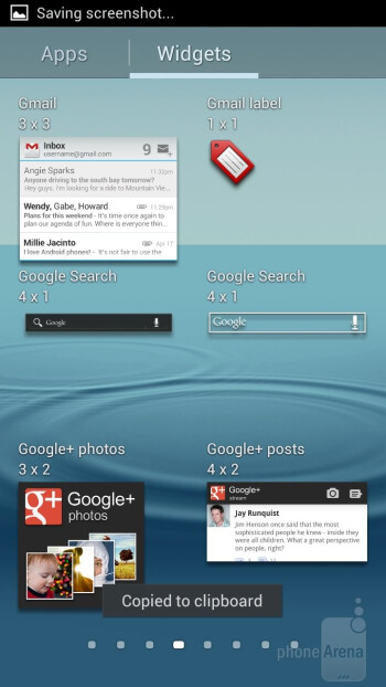 The interface of the Samsung Galaxy S III - Samsung Galaxy Note II vs Galaxy S III