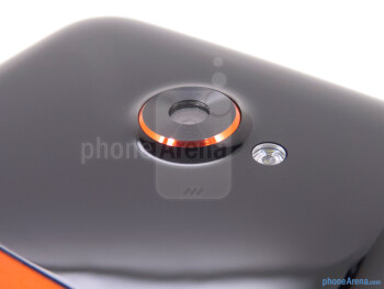 Rear camera - HTC EVO 4G LTE Review