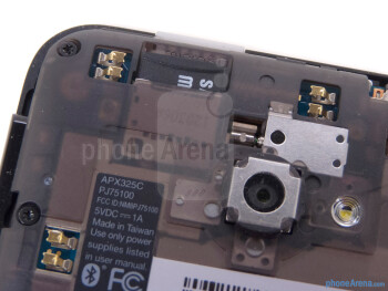 microSD card slot - HTC EVO 4G LTE Review