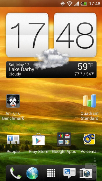 The HTC EVO 4G LTE has Sense 4 UI atop Android 4.0 - HTC EVO 4G LTE Review