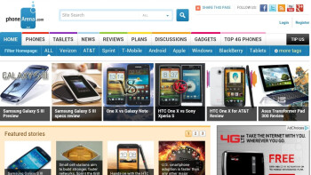 Web browser of the HTC EVO 4G LTE - HTC EVO 4G LTE Review