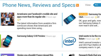 Web browser of the HTC EVO 4G LTE - HTC EVO 4G LTE vs Samsung Galaxy Nexus