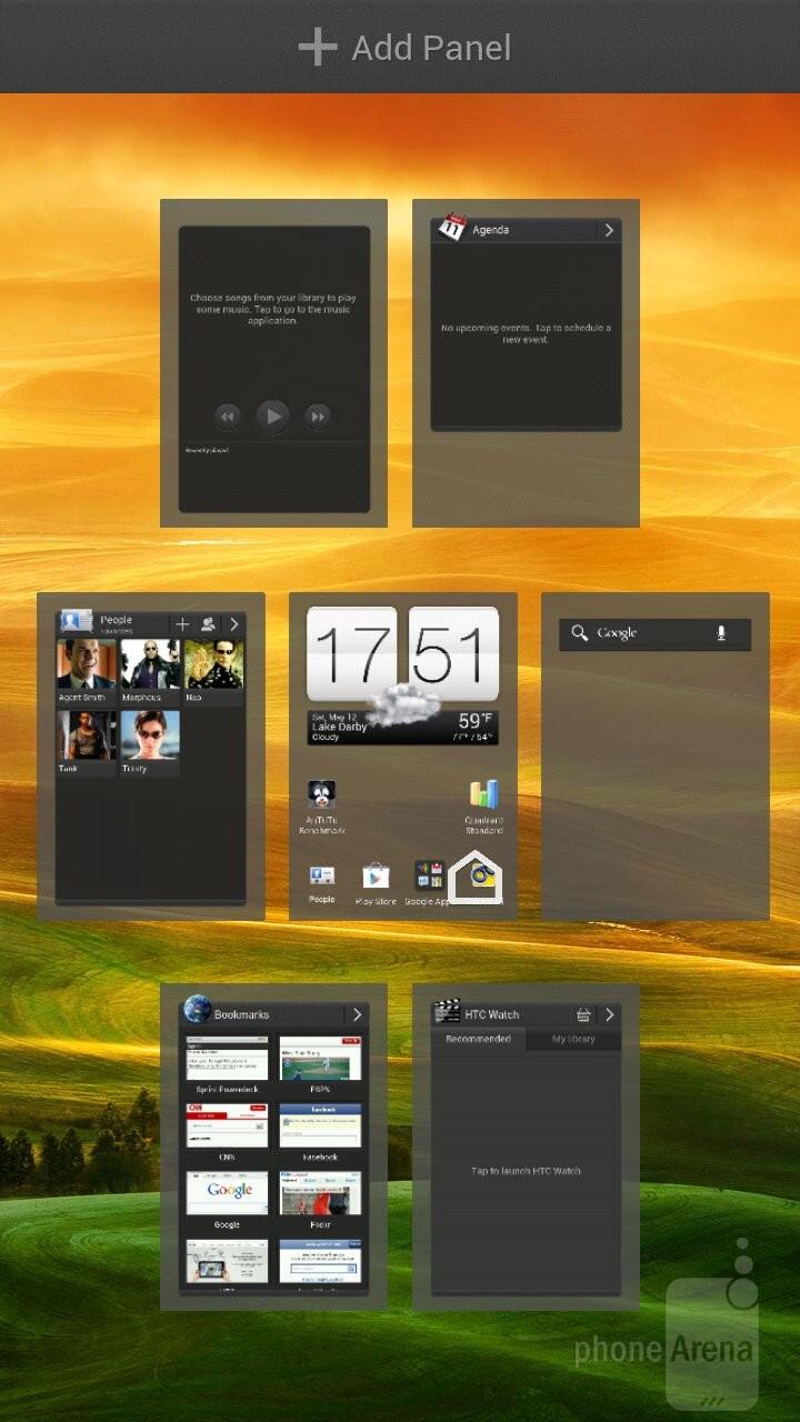 The HTC EVO 4G LTE has Sense 4 UI atop Android 4.0 - Samsung Galaxy S III vs HTC EVO 4G LTE