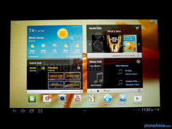 Viewing angles - Samsung Galaxy Tab 2 (10.1) Review