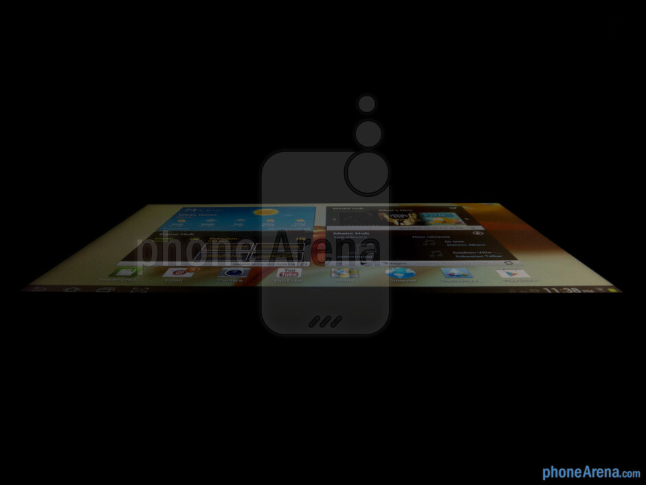 Viewing angles - Samsung Galaxy Tab 2 (10.1) Review