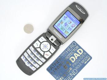 Next to CC card - Samsung SGH-T719 Review
