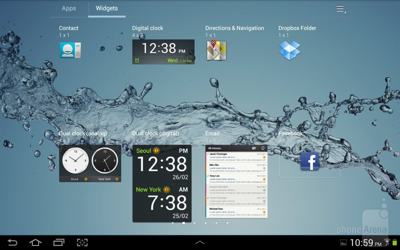 Samsung Galaxy Tab 2 10 1 Review Interface Functionality