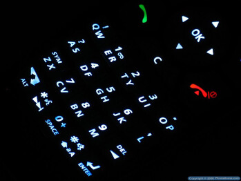 The Keyboard - Samsung SGH-T719 Review