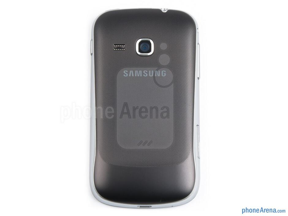 Back - Samsung Galaxy mini 2 Review