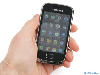 The Samsung Galaxy mini 2 looks presentable and feels properly built - Samsung Galaxy mini 2 Review