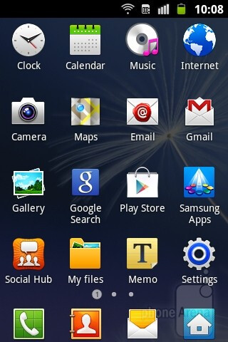 The Samsung Galaxy mini 2 runs Android 2.3.6 Gingerbread with the TouchWiz UI installed on top - Samsung Galaxy mini 2 Review