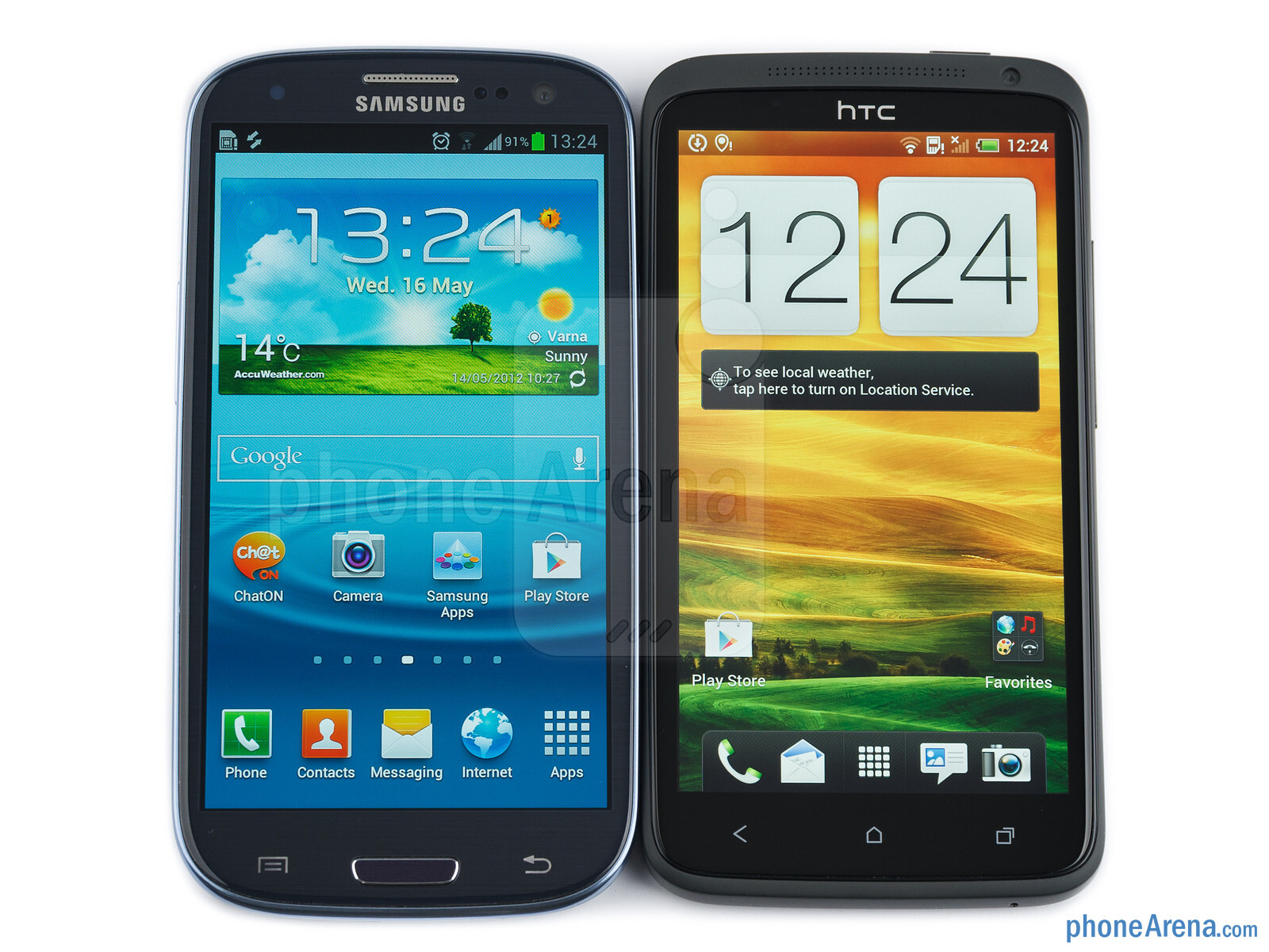 Samsung Galaxy S III vs HTC One X 01 Samsung being probed for fake reviews in Taiwan