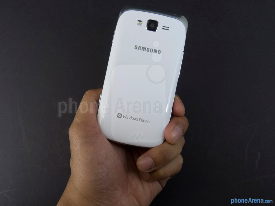 The Samsung Focus 2 sports a sturdy all-plastic body that makes it lightweight - Samsung Focus 2 Review