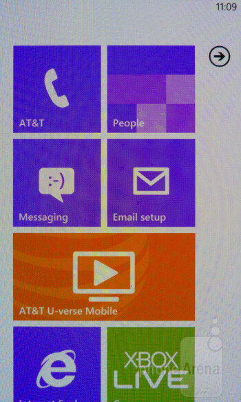 The Samsung Focus 2 is running Windows Phone Mango - Samsung Focus 2 Review