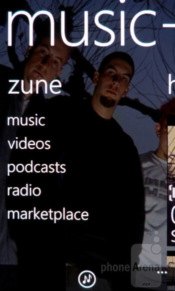 Zune - Samsung Focus 2 Review