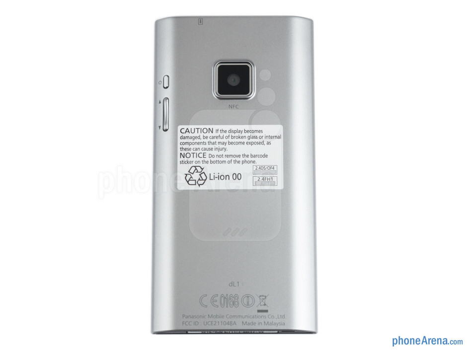 The Panasonic ELUGA is a handset that we enjoy holding - Panasonic ELUGA Review