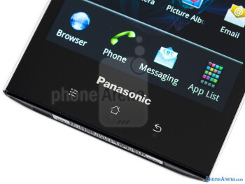 The touch sensitive controls - Panasonic ELUGA Review