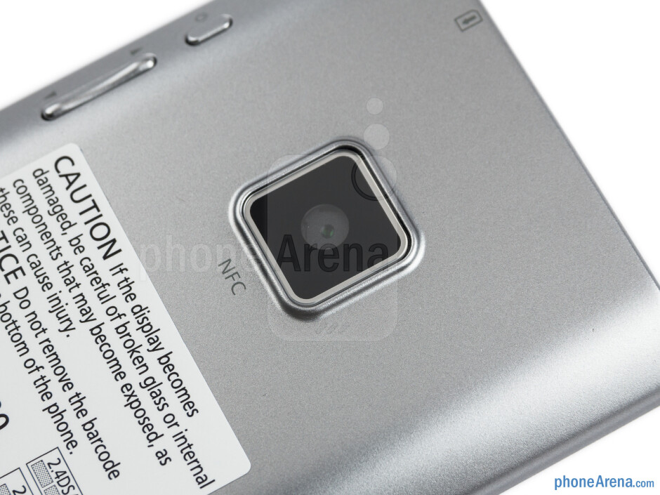 The 8-megapixel shooter on the back - Panasonic ELUGA Review