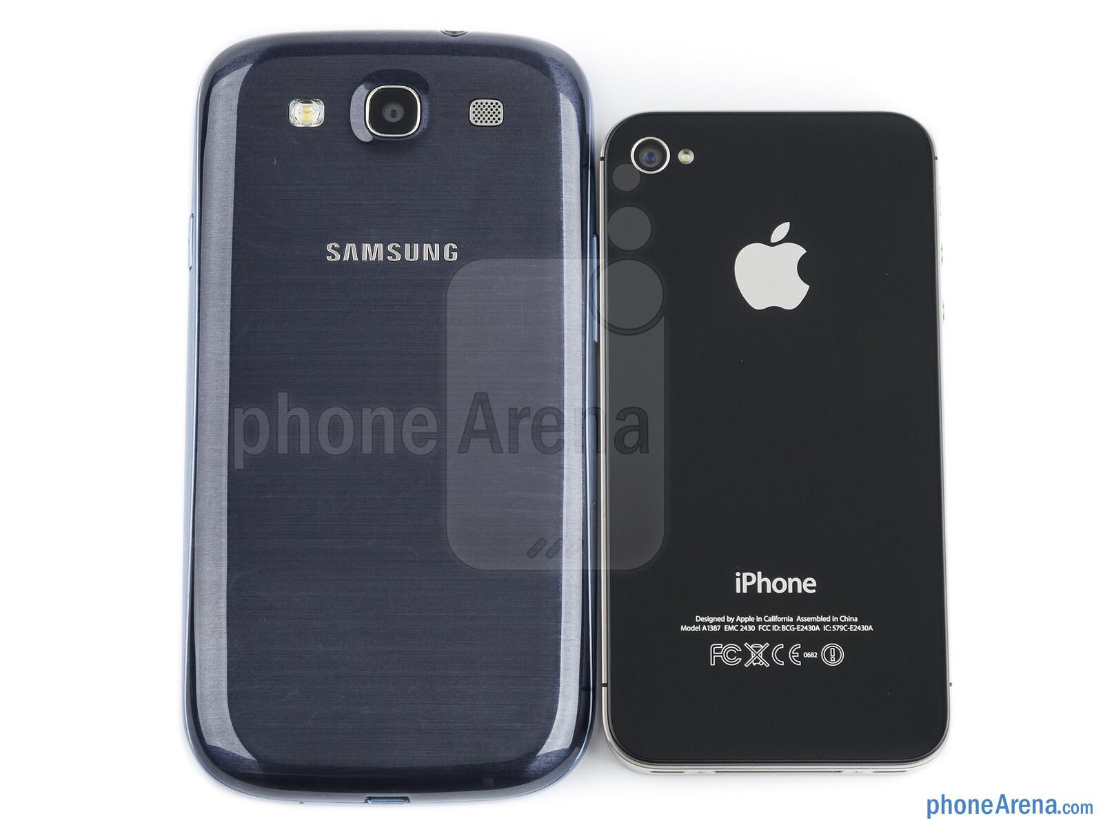 Samsung galaxy s iphone