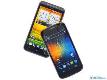 The HTC EVO 4G LTE and the Samsung Galaxy Nexus look pretty different - HTC EVO 4G LTE vs Samsung Galaxy Nexus