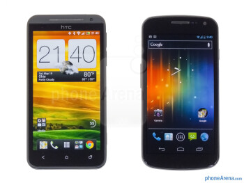 HTC EVO 4G LTE vs Samsung Galaxy Nexus